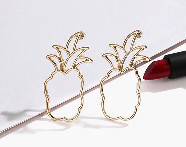 Pineapple Earrings I