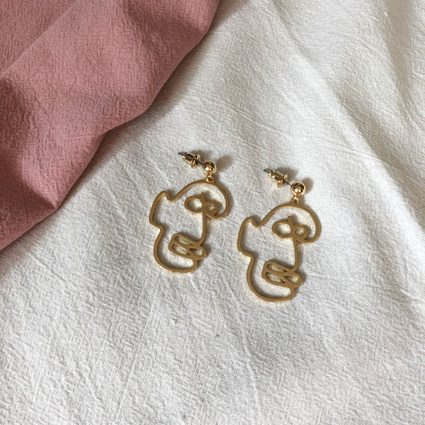 Max Face Earrings