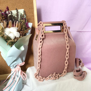 *BACKORDER* Fenny Carton Bag (Velvet pink)