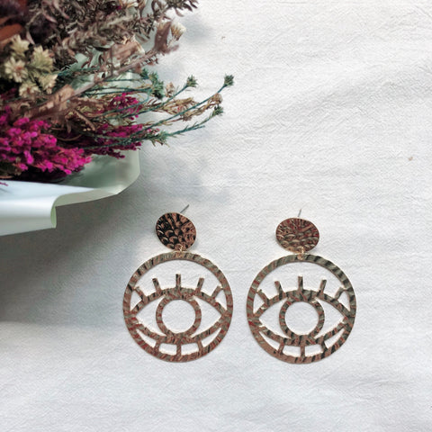 Ash Eyes Earrings