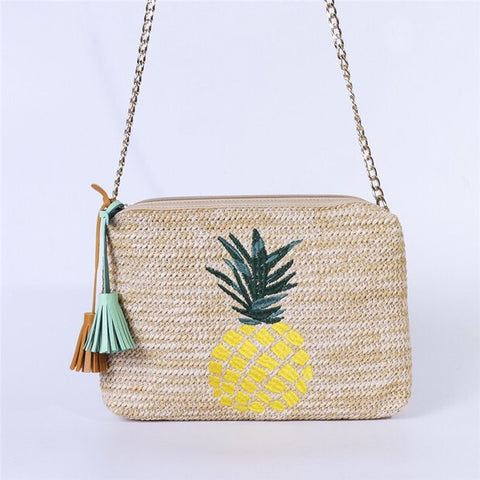 Nate Rectangular Bag (Pineapple)