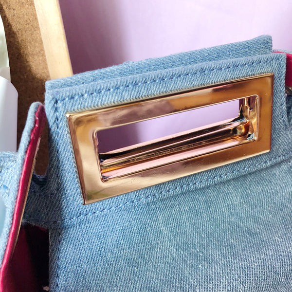 Fenny Carton Bag (Denim)