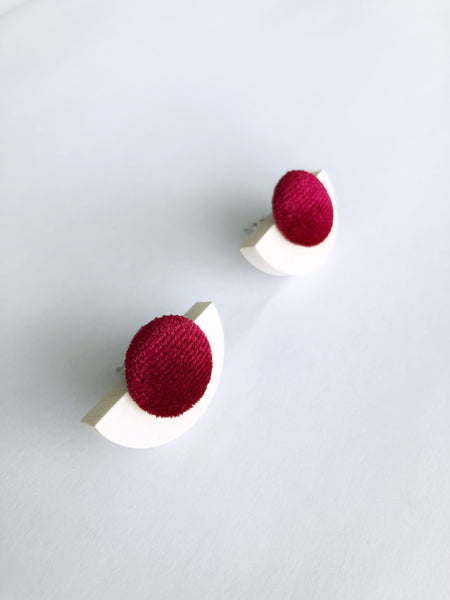 Babita Earrings (Red)