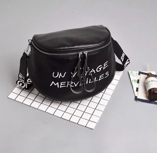 Paris Crossbody Bag (Black)