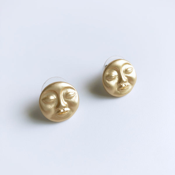Ophelia Face Earrings