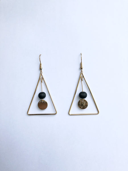 Hera Earrings (Black)