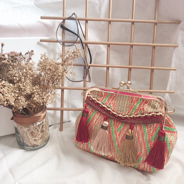 Casey Tassel Bag V2 (Sunset)