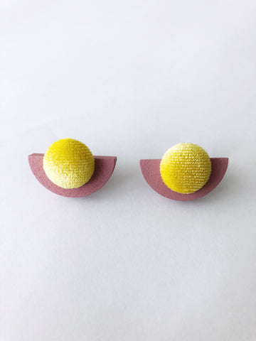 Babita Earrings (Yellow)