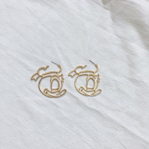 Donald Duck Earrings