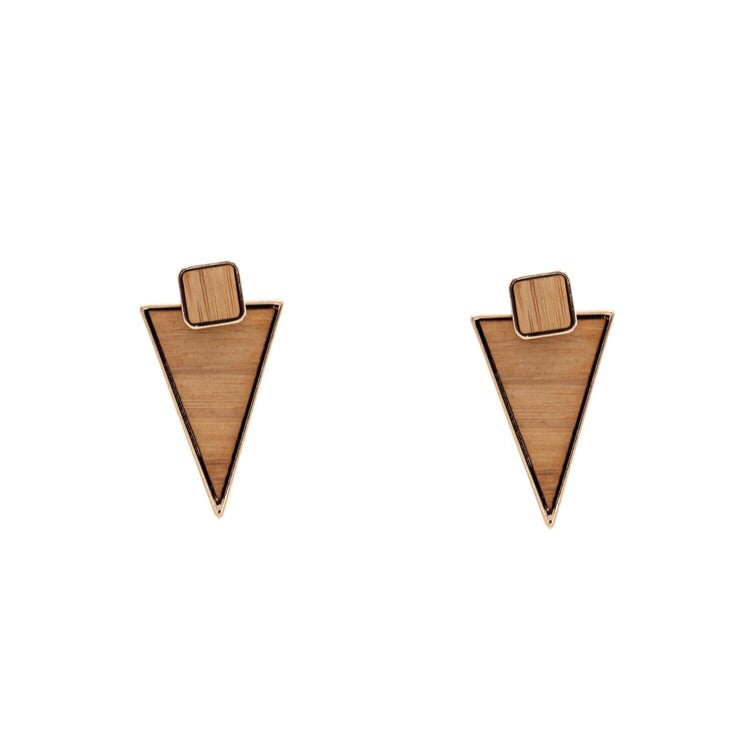 Nara Mira Triangular Earrings