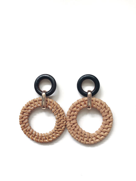 Rowen Rattan Earrings