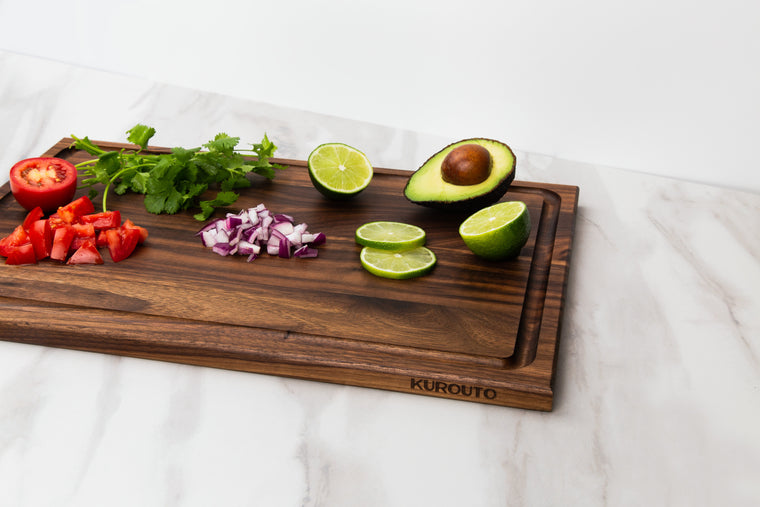 Walnut Cutting Board with Juice Groove