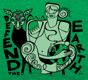 Defend the Earth V-Neck TShirts
