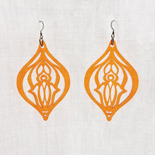 Load image into Gallery viewer, Pussy Power Earrings Orange