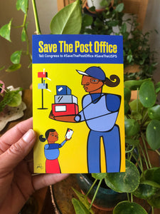 Save the Post Office Postcard Set