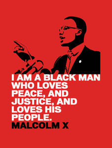 Malcolm X (Red Edition)