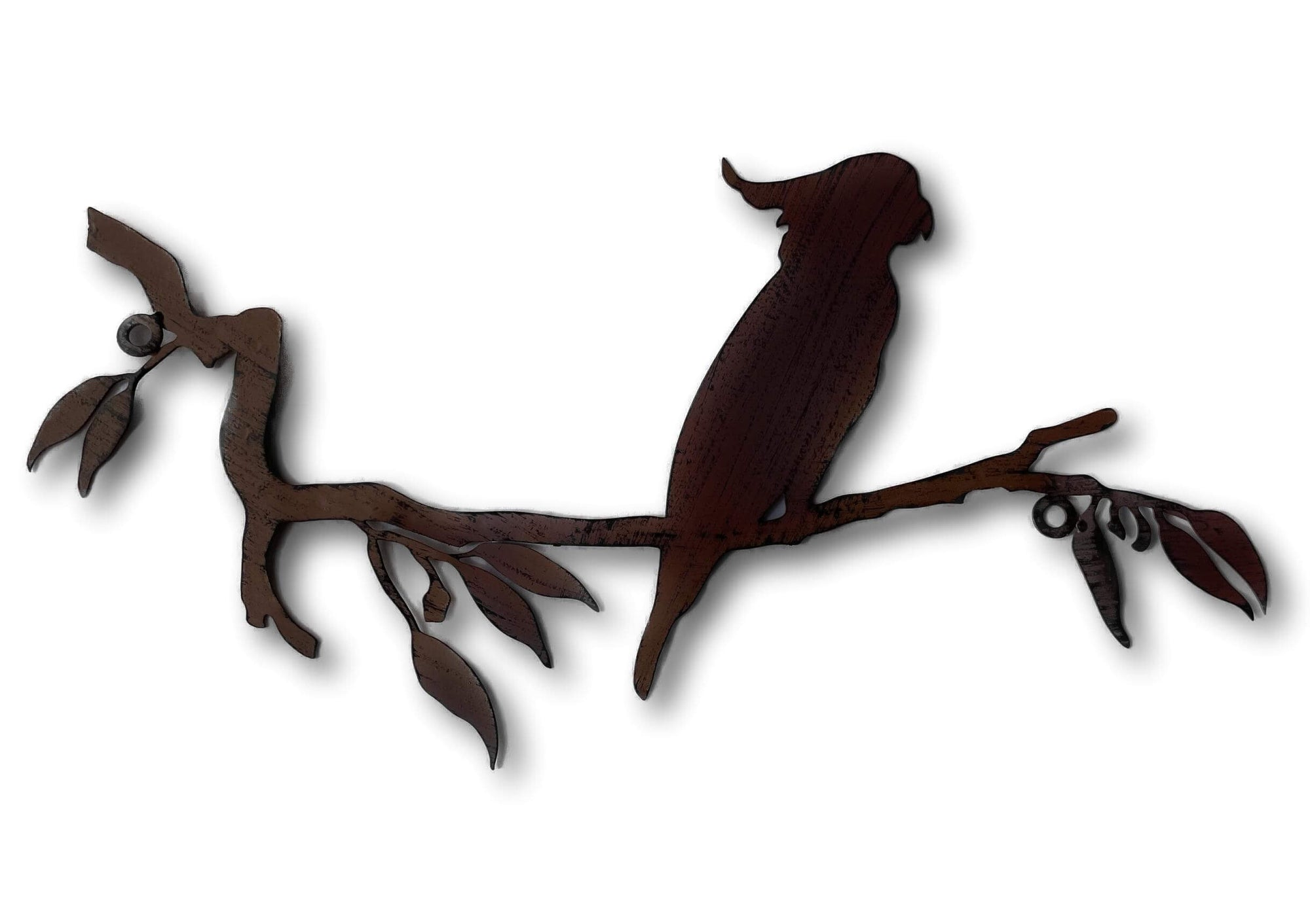 Cockatoo Silhouette Wall Art - Laser Cut Metal Art
