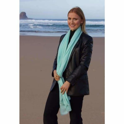 A$74.95 - CASHMERE PASHMINA SCARF - HAND MADE IN NEPAL 🇳🇵UNISEX (19) ISLAND BUDDHA