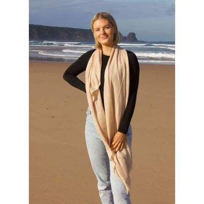 A$74.95 - CASHMERE PASHMINA SCARF - HAND MADE IN NEPAL 🇳🇵UNISEX (17) ISLAND BUDDHA