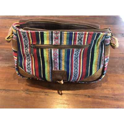Hand Bag 👜 Handmade in Nepal 🇳🇵 Colourful Fun Boho Bag - Island Buddha