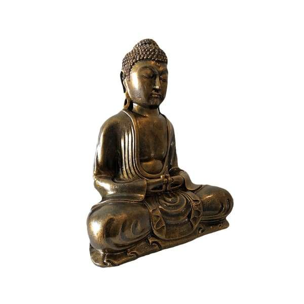 Large Gold Buddha Statue - Hand Made In Bali