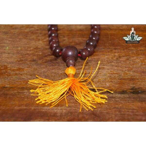 Mala 108 Beads Rosewood 10mm - Hand Made In Nepal