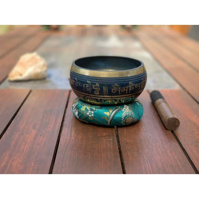 Nepalese Singing Bowl - Made In Nepal 🇳🇵 (A Note) - Island Buddha