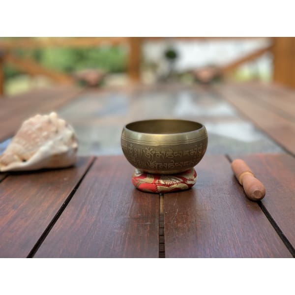 Nepalese Singing Bowl - Made In Nepal 🇳🇵(E NOTE) - Island Buddha