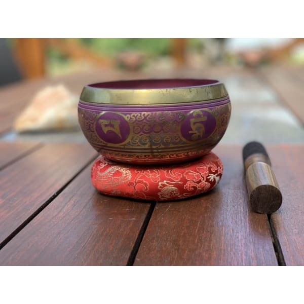 Nepalese Singing Bowl - Made In Nepal 🇳🇵 (F Note)