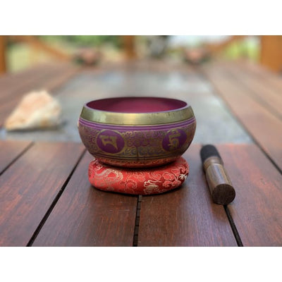 Nepalese Singing Bowl - Made In Nepal 🇳🇵 (F Note) - Island Buddha