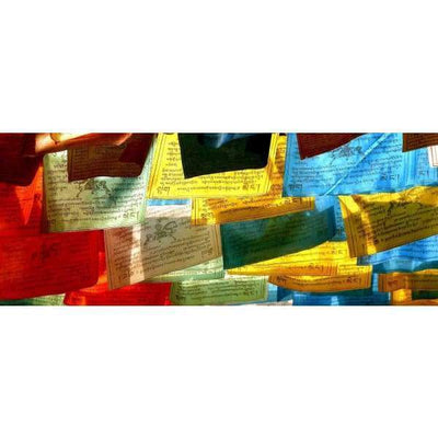 $44.95 - NEPALESE TIBETAN PRAYER FLAGS HAND MADE IN NEPALSMALL MEDIUM & LARGE (16) ISLAND BUDDHA
