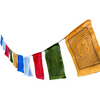 $44.95 - NEPALESE TIBETAN PRAYER FLAGS HAND MADE IN NEPALSMALL MEDIUM & LARGE (1) ISLAND BUDDHA