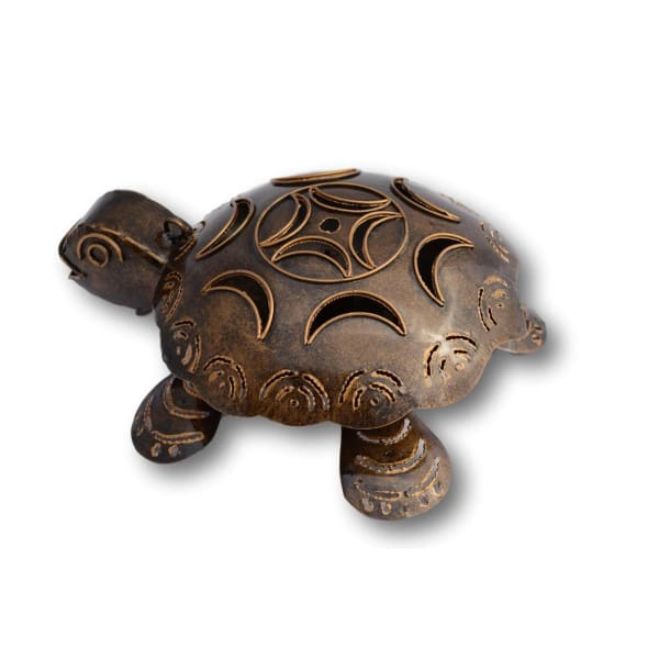 Turtle Mosquito Coil Holder - Hand Made Bali Metal Art