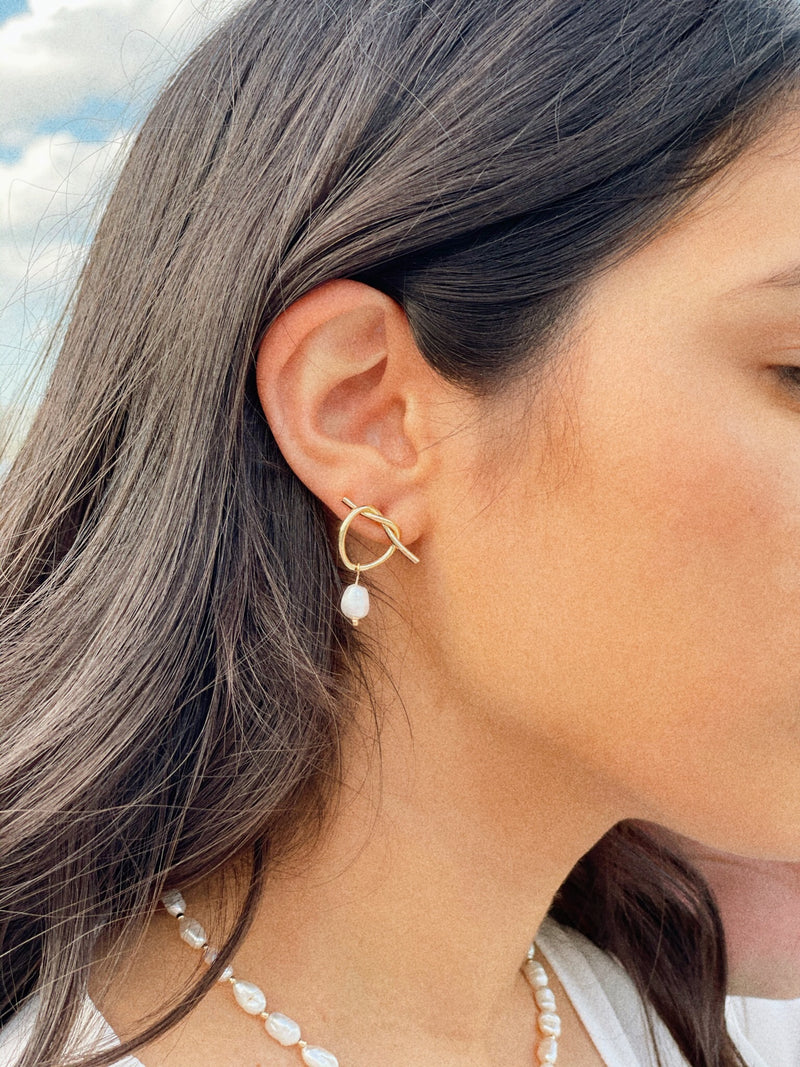 Bibi Freshwater Pearl Earrings