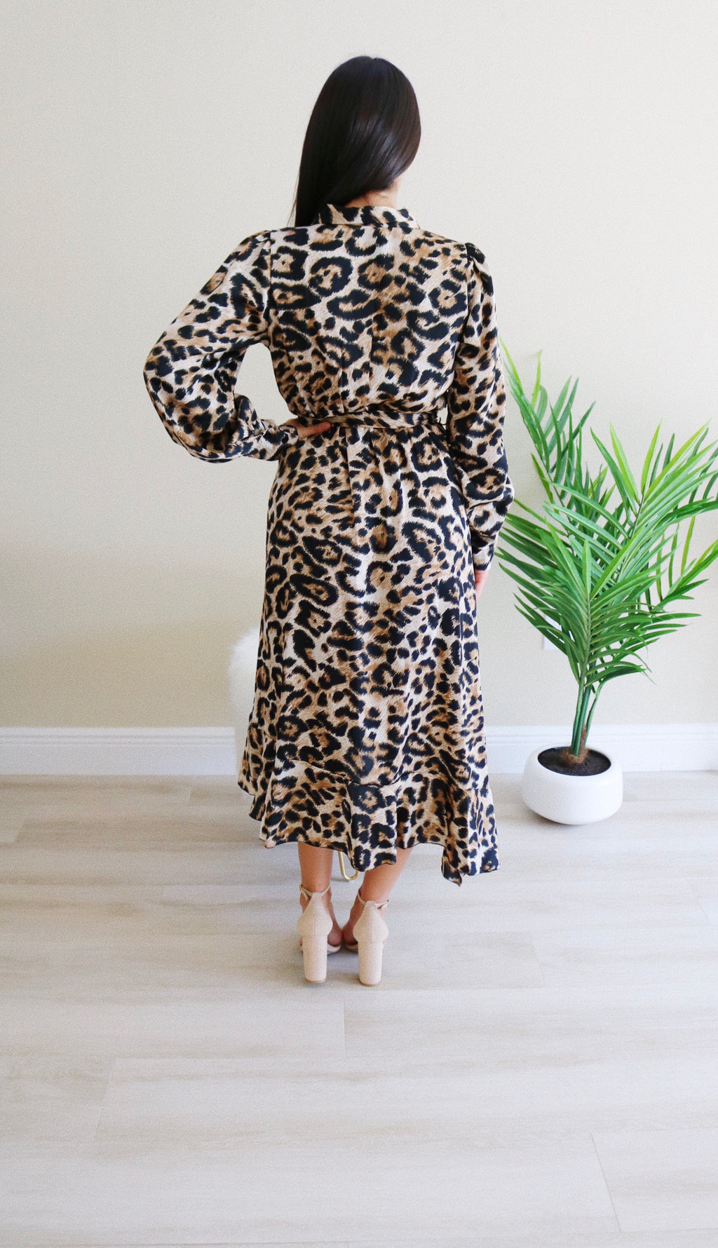 Elizabeth Leopard Dress