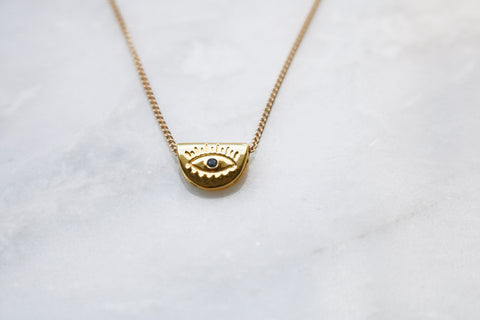 Tiny Hamsa Necklace