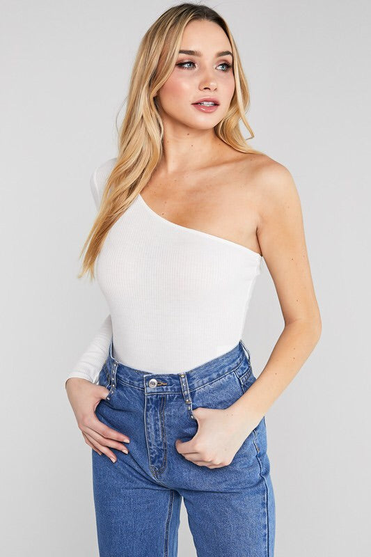 Oli One shoulder Bodysuit