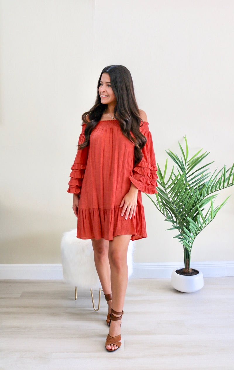 Alessa Off The Shoulder Mini