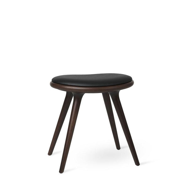 Low Stool | Dark stained beech | 47 cm