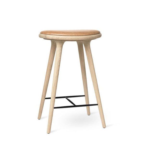 High Stool | Soaped oak | 69 cm