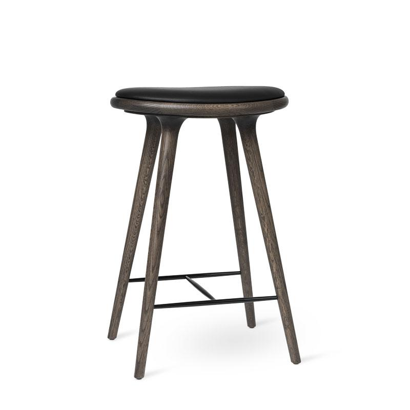 High Stool | Sirka grey stained oak | 69 cm