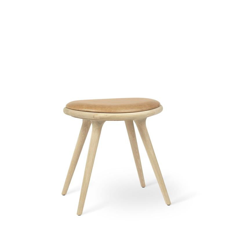Low Stool | Natural soaped oak | 47 cm