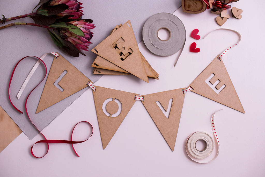 custom bunting: make your own