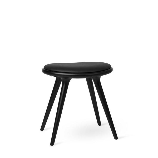 Low Stool | Sort lakeret bøgetræ