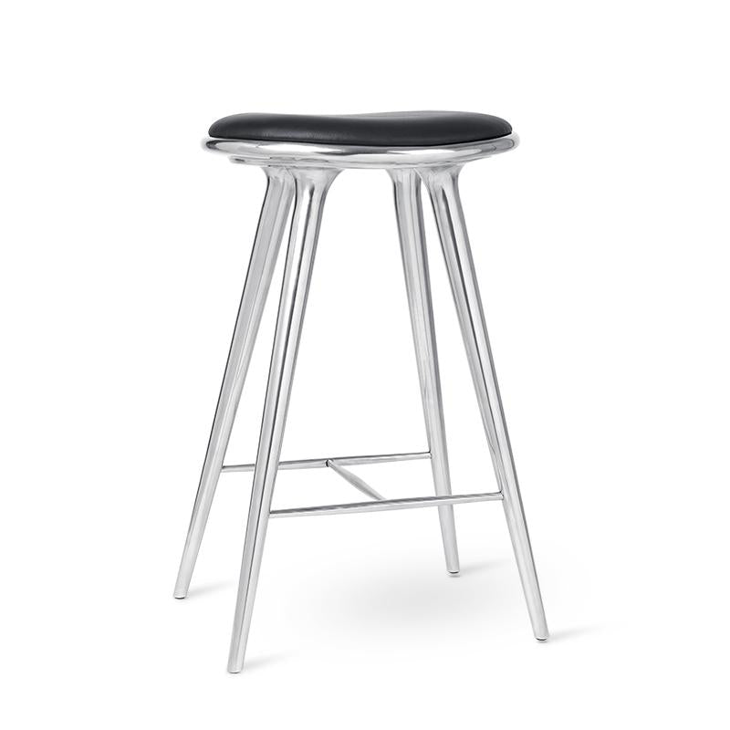 High Stool | Aluminium | by Space Copenhagen