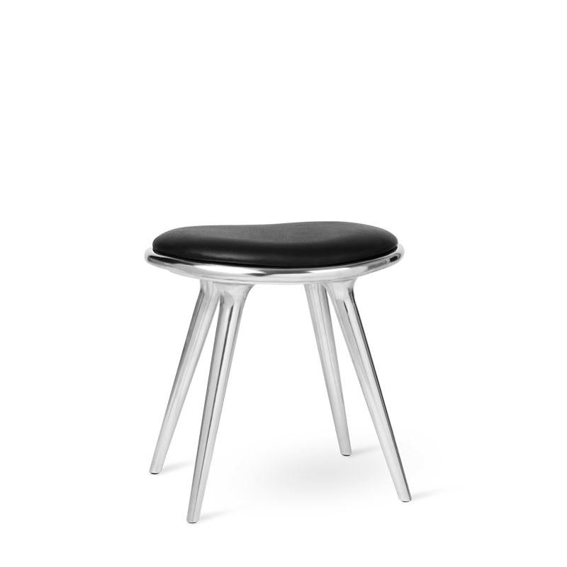 Low Stool | Aluminium | by Space Copenhagen