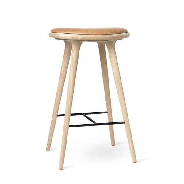 High Stool | Sæbebehandlet eg | by Space Copenhagen