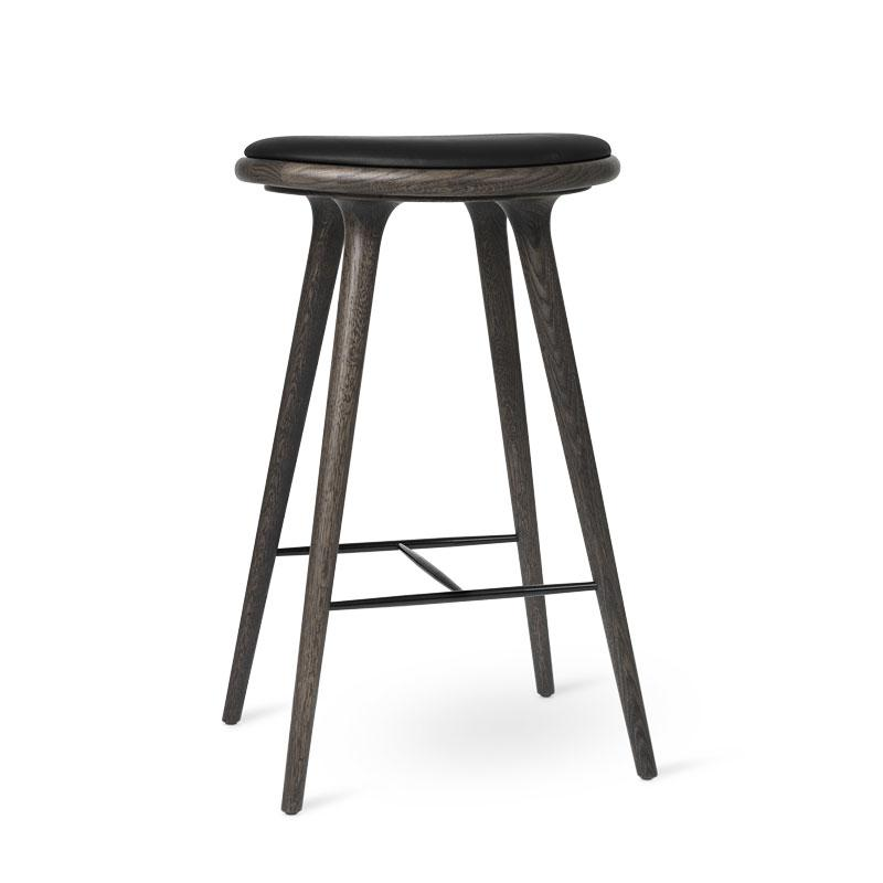 High Stool | Sirka grå lakeret eg| by Space Copenhagen