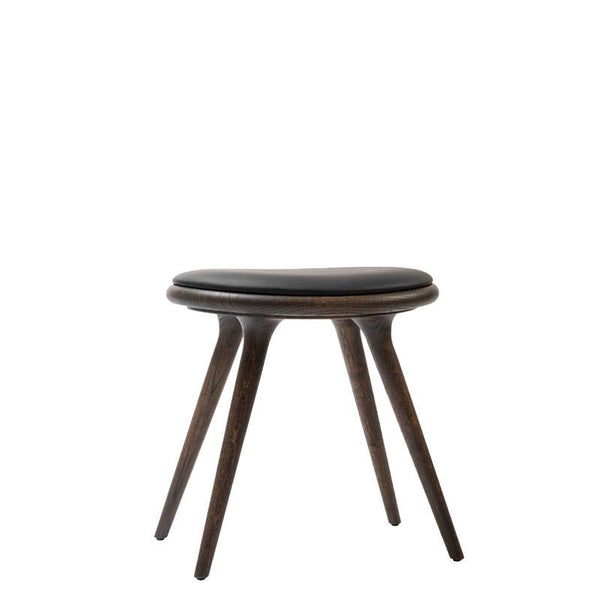 Low Stool | Sirka grå lakeret eg | by Space Copenhagen