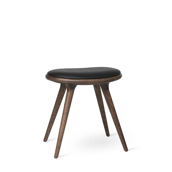 Low Stool | Mørk lakeret egetræ